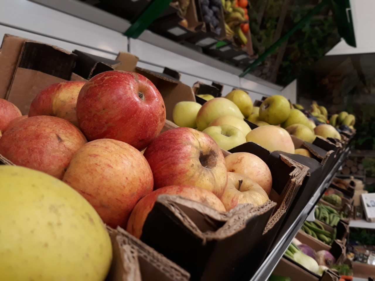 fruta ecologica