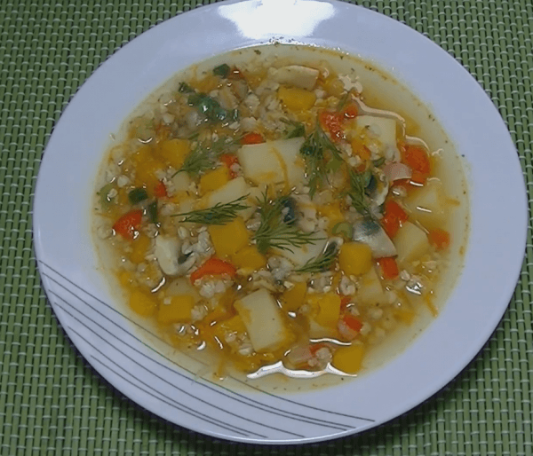 receta sopa vegetariana con trigo sarraceno bio bio zaragoza